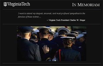 VT crisis homepage memorial top
