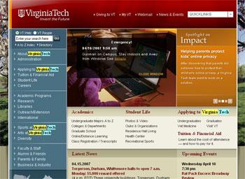 VT crisis homepage 0